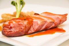 Στήθος παπιών που ψήνονται και tamarind σάλτσα Στοκ εικόνα με δικαίωμα ελεύθερης χρήσης