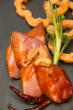 Στήθος παπιών που ψήνονται και tamarind σάλτσα Στοκ Εικόνες