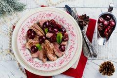 Στήθος παπιών Χριστουγέννων Στοκ εικόνα με δικαίωμα ελεύθερης χρήσης