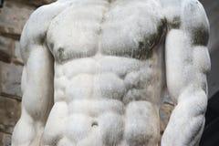 Στήθος του αγάλματος Hercules στη Φλωρεντία Στοκ φωτογραφία με δικαίωμα ελεύθερης χρήσης