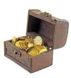 Στήθος των νομισμάτων Στοκ Εικόνα