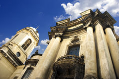 στήλες εκκλησιών Στοκ Εικόνες