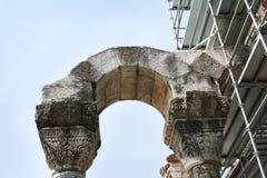 Στήλες κοντά σε Philippi Στοκ Φωτογραφίες