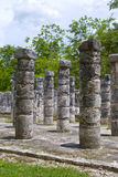 στήλες Μεξικό Στοκ Εικόνες