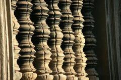 Στήλες πετρών σε Ankgor Wat Στοκ Εικόνες
