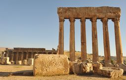 στήλες Ρωμαίος Στοκ φωτογραφίες με δικαίωμα ελεύθερης χρήσης