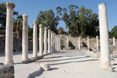 στήλες Ρωμαίος Στοκ Εικόνες