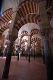 Στήλες του Mezquita μουσουλμανικού τεμένους στοκ φωτογραφία