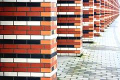 στήλες τούβλου Στοκ εικόνες με δικαίωμα ελεύθερης χρήσης