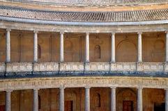 Στήλες Alhambra, Γρανάδα, Στοκ εικόνα με δικαίωμα ελεύθερης χρήσης