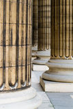 στήλες pantheon Παρίσι Στοκ Εικόνες