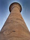 στήλη Αιγύπτιος Στοκ Φωτογραφία