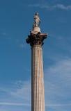 στήλη Λονδίνο Nelson s UK Στοκ Φωτογραφίες