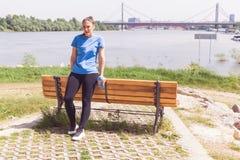 Στήριξη κοριτσιών ικανότητας Στοκ φωτογραφία με δικαίωμα ελεύθερης χρήσης