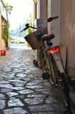 Στήριξη ποδηλάτων Στοκ εικόνες με δικαίωμα ελεύθερης χρήσης