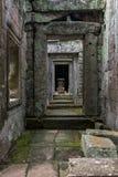 Στήλες και αψίδες, Angkor Wat, Καμπότζη Στοκ Εικόνες