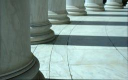 Στήλες στην Ουάσιγκτον Δ Γ Στοκ Εικόνα