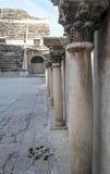 Στήλες στο ρωμαϊκό θέατρο Στοκ εικόνα με δικαίωμα ελεύθερης χρήσης