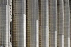 Στήλες της εκκλησίας της Madeleine στο Παρίσι Στοκ εικόνα με δικαίωμα ελεύθερης χρήσης