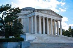 Στήλες του μνημείου του Thomas Jefferson Washington DC, ΗΠΑ Στοκ Εικόνα