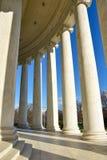 Στήλες του μνημείου του Thomas Jefferson Washington DC, ΗΠΑ Στοκ εικόνα με δικαίωμα ελεύθερης χρήσης