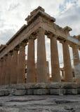 Στήλες Parthenon Στοκ εικόνες με δικαίωμα ελεύθερης χρήσης