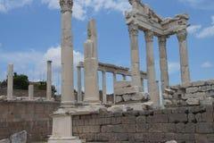 Στήλες Trajaneum Στοκ φωτογραφίες με δικαίωμα ελεύθερης χρήσης