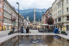 Στήλη Αγίου Anne στο Ίνσμπρουκ, Αυστρία. Στοκ εικόνα με δικαίωμα ελεύθερης χρήσης