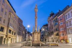 Στήλη Αγίου Anne στο Ίνσμπρουκ, Αυστρία Στοκ Φωτογραφίες