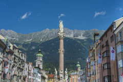 Στήλη Αγίου Anne στο Ίνσμπρουκ, Αυστρία Στοκ Εικόνα