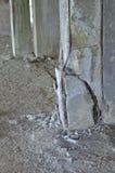 Στήλη αποτυχίας ζημίας σεισμού Στοκ Εικόνες