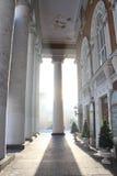 Στήλη στον ήλιο Στοκ εικόνες με δικαίωμα ελεύθερης χρήσης