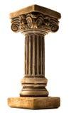 Στήλη στο άσπρο υπόβαθρο Στοκ εικόνα με δικαίωμα ελεύθερης χρήσης