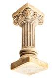 Στήλη στο άσπρο υπόβαθρο Στοκ φωτογραφία με δικαίωμα ελεύθερης χρήσης