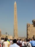 Στήλη της Αιγύπτου Στοκ εικόνα με δικαίωμα ελεύθερης χρήσης