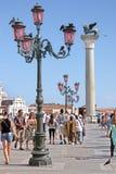 Στήλη του SAN Marco στη Βενετία Στοκ εικόνα με δικαίωμα ελεύθερης χρήσης