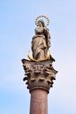 Στήλη του ST Anna, Ίνσμπρουκ, Αυστρία Στοκ φωτογραφία με δικαίωμα ελεύθερης χρήσης