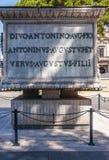 Στήλη Antoninus Pius Στοκ εικόνα με δικαίωμα ελεύθερης χρήσης