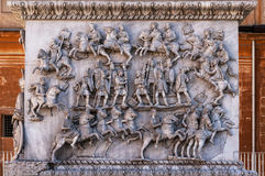 Στήλη Antoninus Pius Στοκ Εικόνες
