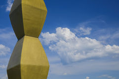 Στήλη Endles του Constantin Brancusi στοκ εικόνες