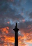στήλη Nelson s Στοκ φωτογραφία με δικαίωμα ελεύθερης χρήσης