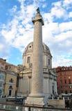 Στήλη Trajan στοκ φωτογραφία με δικαίωμα ελεύθερης χρήσης