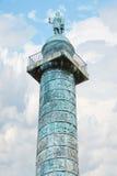 Στήλη Vendome θέσεων στο Παρίσι Στοκ φωτογραφία με δικαίωμα ελεύθερης χρήσης