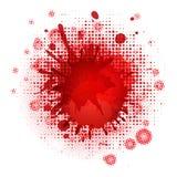 Σταγόνες αίματος Στοκ φωτογραφία με δικαίωμα ελεύθερης χρήσης