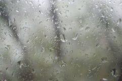 σταγόνες βροχής γυαλιού διανυσματική απεικόνιση