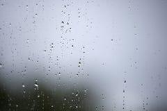 σταγόνες βροχής γυαλιο Στοκ εικόνες με δικαίωμα ελεύθερης χρήσης