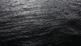 Σταγόνες βροχής που αφορούν την επιφάνεια νερού φιλμ μικρού μήκους
