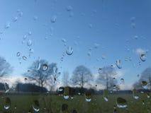 σταγόνες βροχής Στοκ φωτογραφία με δικαίωμα ελεύθερης χρήσης