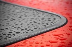 σταγόνες βροχής Στοκ εικόνα με δικαίωμα ελεύθερης χρήσης