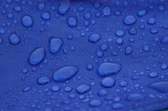 σταγόνες βροχής Στοκ Φωτογραφίες